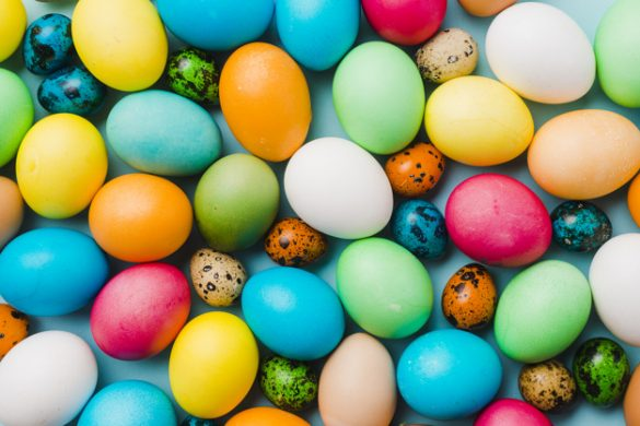 کارگاه مادرو کودک تخم مرغ رنگی