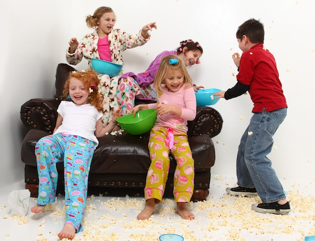 کودکان در مهمانی
